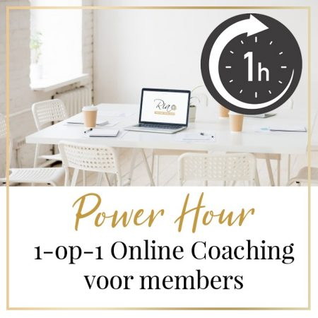 Van Klik naar Klant - Power Hour 1-op-1 online coaching voor members
