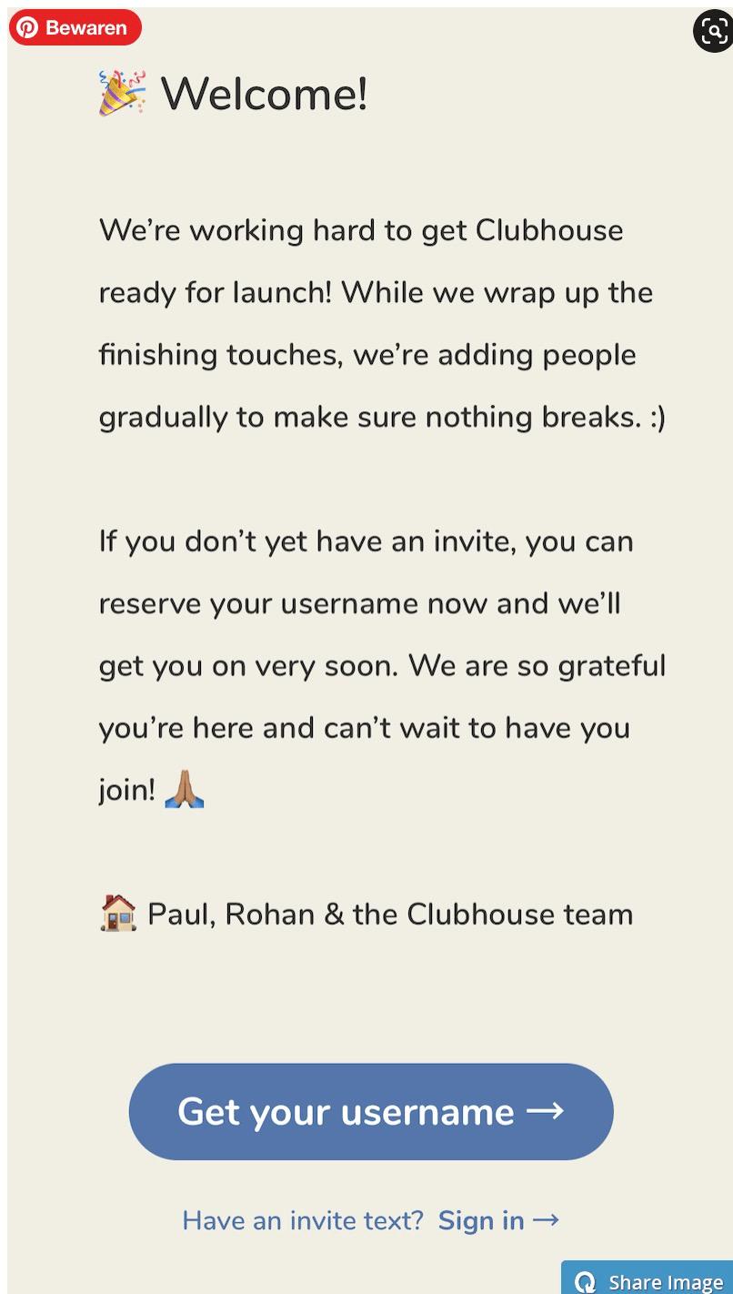 Clubhouse Handleiding en Tips - aanmelden Clubhouse