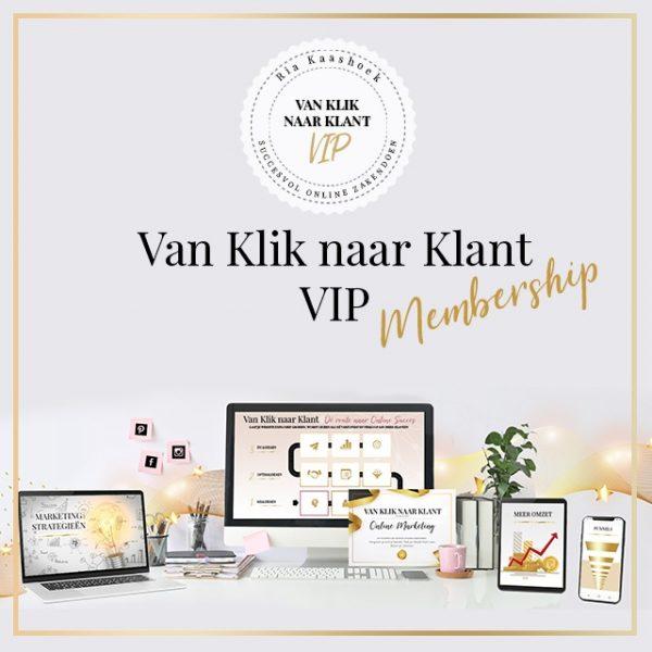 Van Klik naar Klant Online Marketing VIP membership