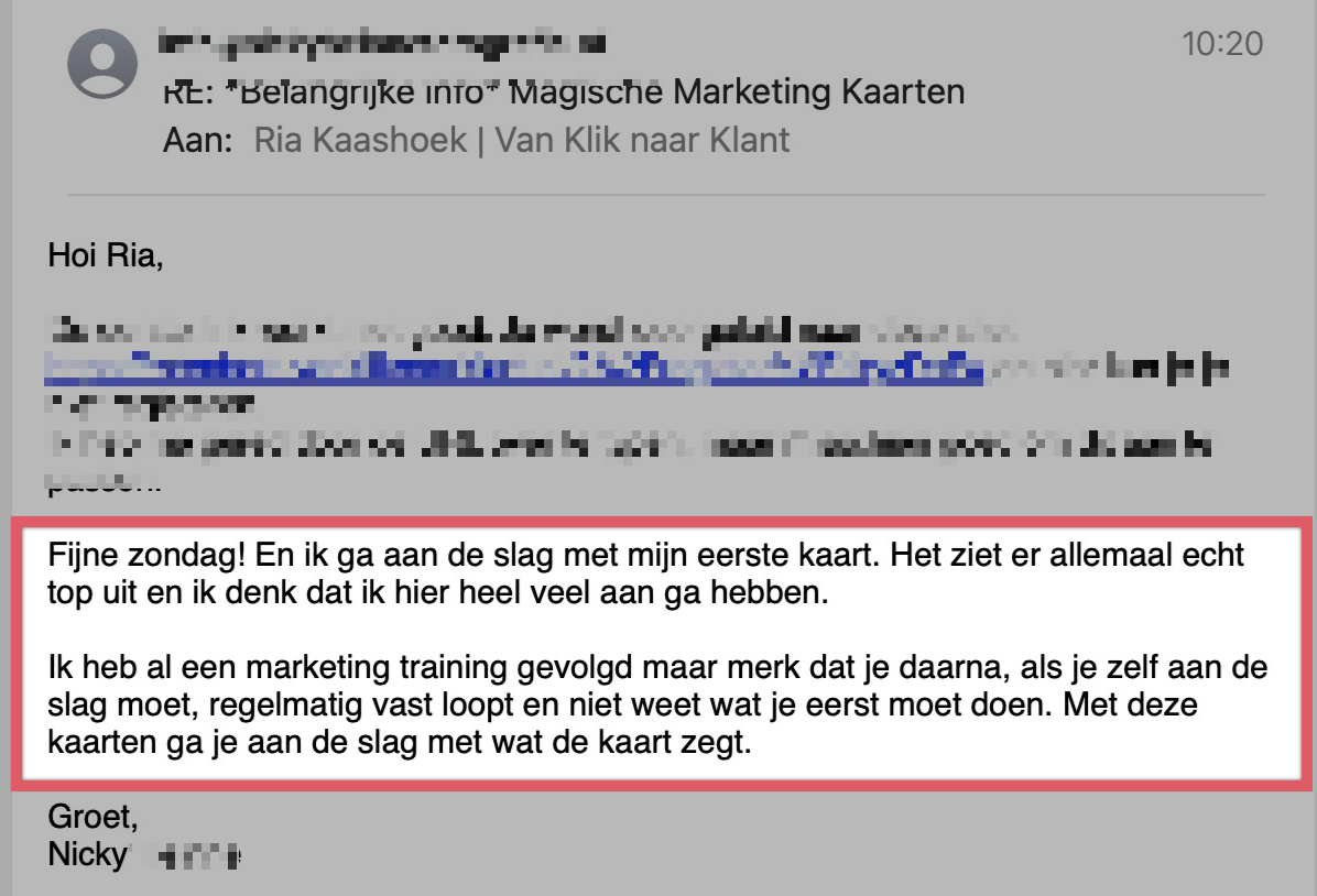 Review Online Marketing Kaarten set Magische Marketing Kaarten