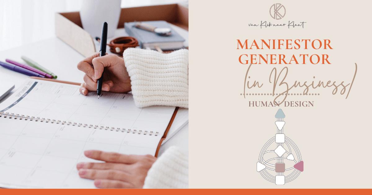 Human Design Manifestor Generator (in Business)