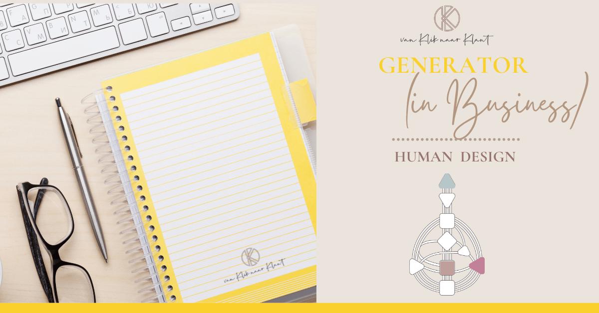 Human Design Generator (in Business)