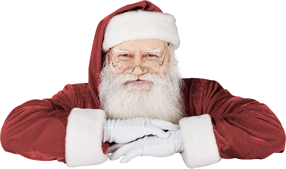 Santa Leaning Demo